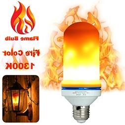 LED Flame Light Bulbs Fire Flicker Effect Lamp Decorative LE