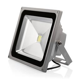 LEDMO 50w flood lights 1.0 Waterproof IP65 for Outdoor, 6000