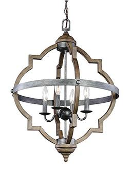 Seagull 5124904-846 Four Light Hall / Foyer
