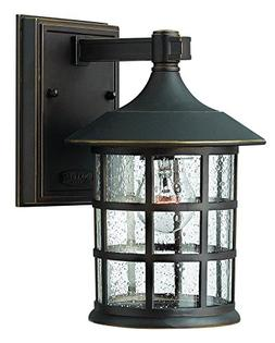 Freeport Wall Lantern in Oil Rubbed Bronze - Size/Bulb Type/