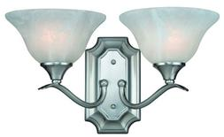 Hardware House H10-4692 Dover 2-Light Bath or Wall Fixture,