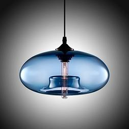 Boshen Hanging Modern Glass Pendant Ceiling Light Lamp Shade