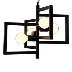 BAYCHEER HL442884 Industrial Retro Style Indoor Multi-Light