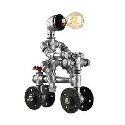 BAYCHEER HL444935 Industrial Retro Lighting Plumbing Robot T