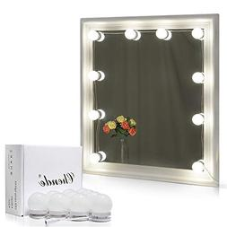 Chende Hollywood Style LED Vanity Mirror Lights Kit with Dim