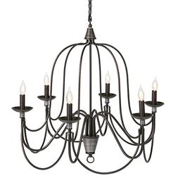 Best Choice Products 6-Light Home Ceiling Candle Chandelier