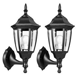 House Outdoor Wall Mount Lanterns 2700K LED Lamp Light Water