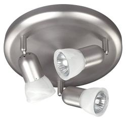 CANARM LTD. ICW356A03BPT10 James 3 Bulb Ceiling/Wall Light,
