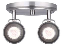 CANARM ICW622A02BN10 LTD Polo 2 Light Ceiling/Wall, Brushed
