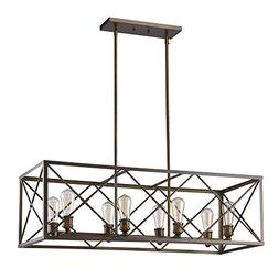 Acclaim Lighting IN21123ORB Brooklyn Indoor 8-Light Pendant,