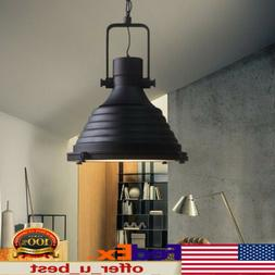 Industrial Chain Retro Hanging Ceiling Light Pendant Lamp E2