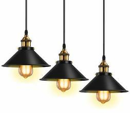 Licperron Industrial Pendant Light E26 E27 Base Vintage Hang