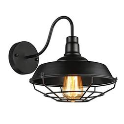 BAYCHEER Industrial Retro style Cage Large Wall Sconce Wall