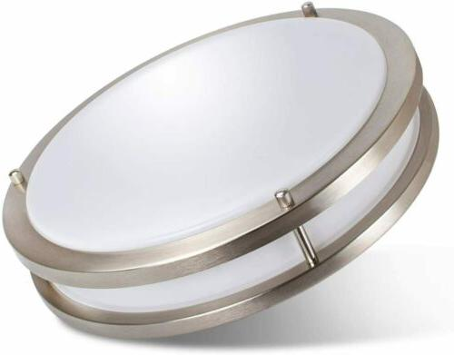 10 12 14 dimmable led flush mount