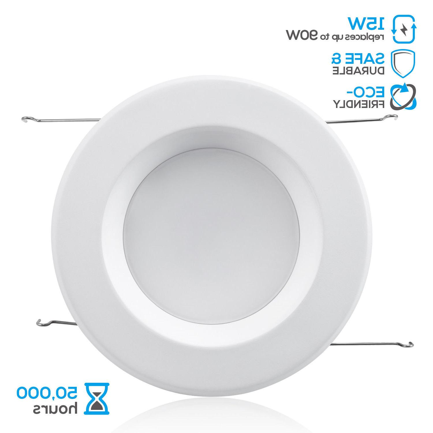 12 6 LED 15W Dimmable Recessed 5000K