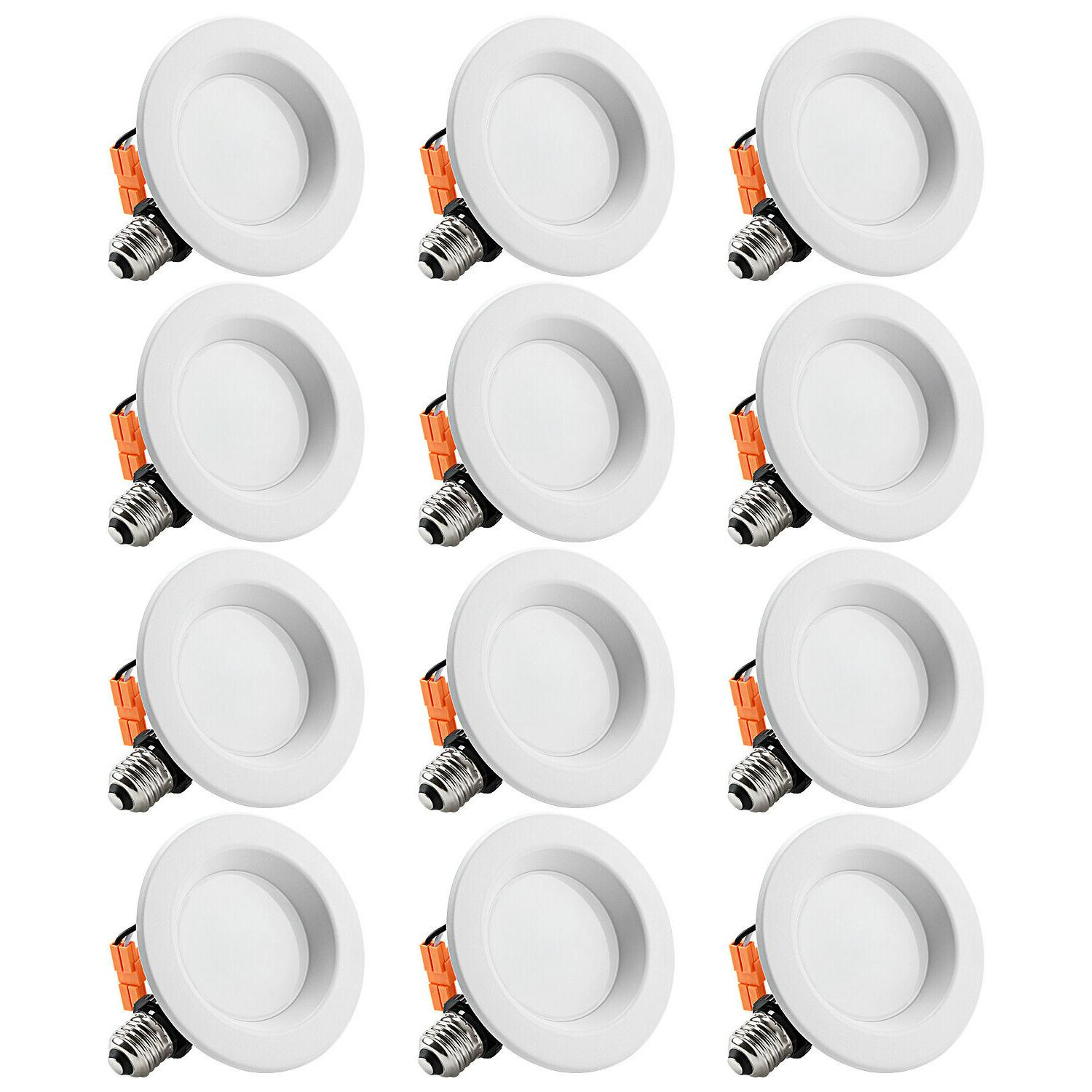 12 pack 6 inch led ceiling light