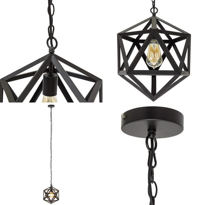 Best Choice Products 12In Industrial Wrought Iron Chandelier