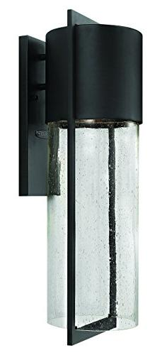 Hinkley 1325BK-LED Transitional One Light Wall Mount from Sh