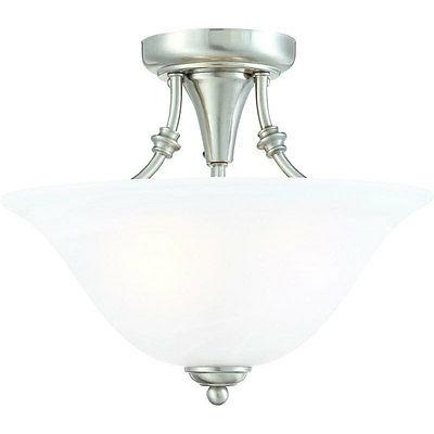 2 light bristol semi flush