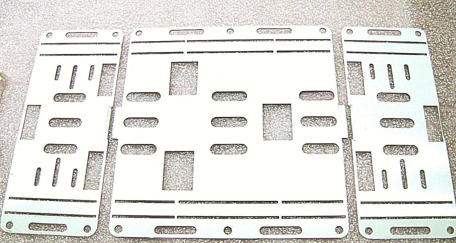 20 Plates for 2 T12 Strip 8' T8 4 LED