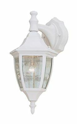 Designers Fountain 2461-WH Value Collection Wall Lanterns, W