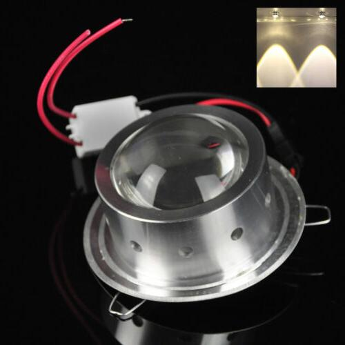 3/9W LED Wall Spiral Lamp Sconce Home KTV Decor