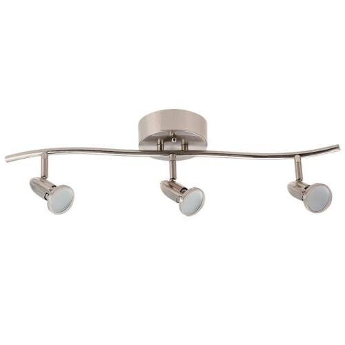 3 Light Track Lighting Ceiling Wall Interior Lamp Fixture, C