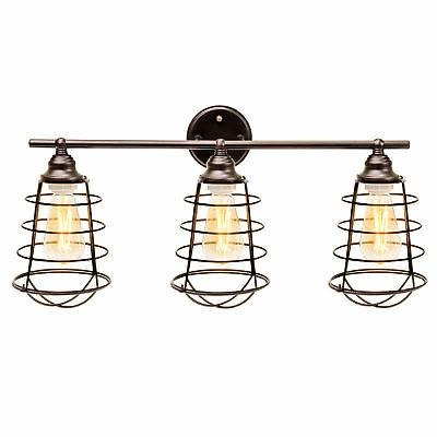 3-Light ETL-Listed Mount Bathroom Fixture