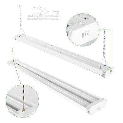 4 Light 5000K Daylight LED Fixture Utility Light