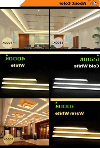 4FT 3FT LED Linear Tube Light Ceiling Lamp Fixture US