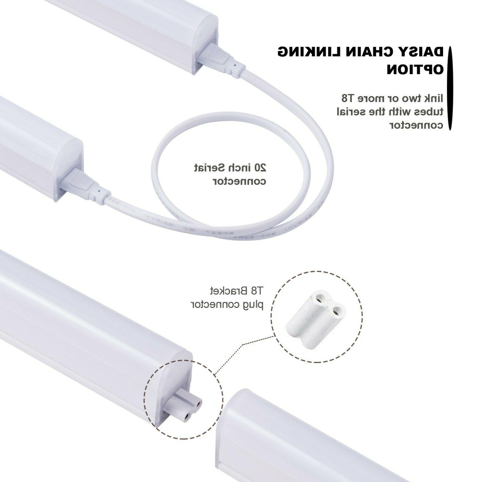 4FT Pack Shop Light T5 Linkable Ceiling 24W Daylight