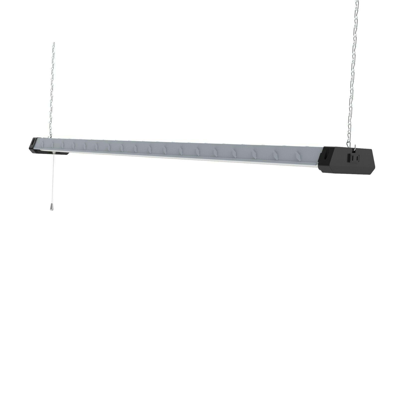 4FT Shop Heavy Duty Linkable Fixture 5500lm Bright White Work Garage