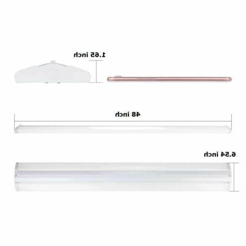 AntLux 4FT Wraparound Light Fixture Slim LED for