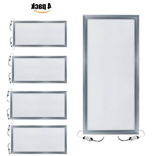 4PACK LED Panel Ceiling Fixture Lamp