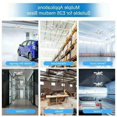60W E27 Garage Shop Work Ceiling Fixture Deformable Lamp