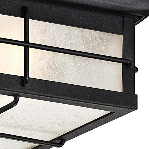Westinghouse Orwell Light Outdoor Flush Fixture, Textured