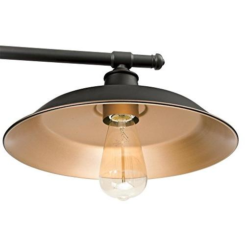 Westinghouse Hill Three-Light Pendant, Oil Rubbed with Bronze