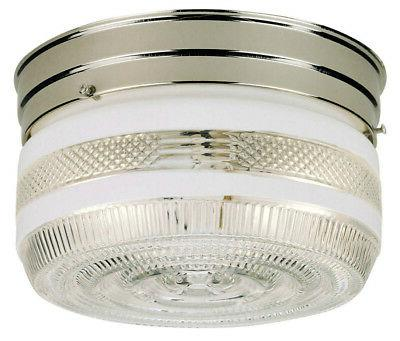 Westinghouse 66240 Two-Light Interior Flush-Mount Ceiling Fi