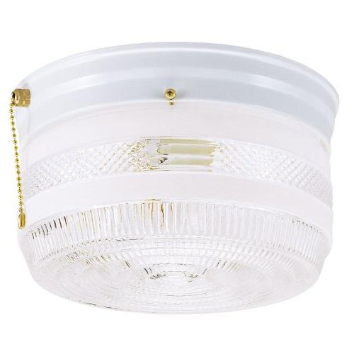 6734500 two light flush clear