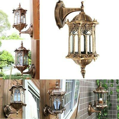 usa aluminum glass lamp wall light fixture