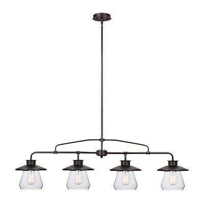 Globe Electric Angelina 4-Light Oil-Rubbed Bronze Industrial
