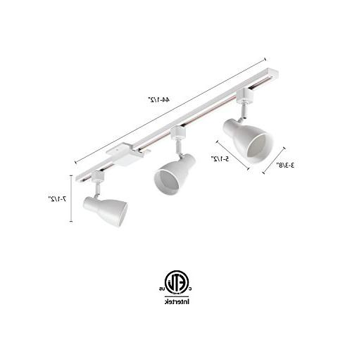 Lithonia LTKSTBF MW 3-Light Baffle White