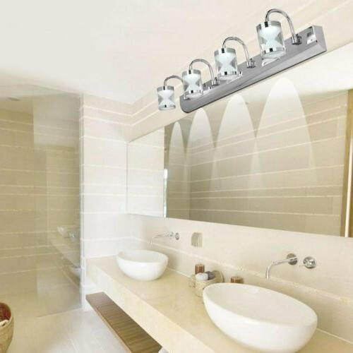 bathroom vanity light acrylic led mirror front