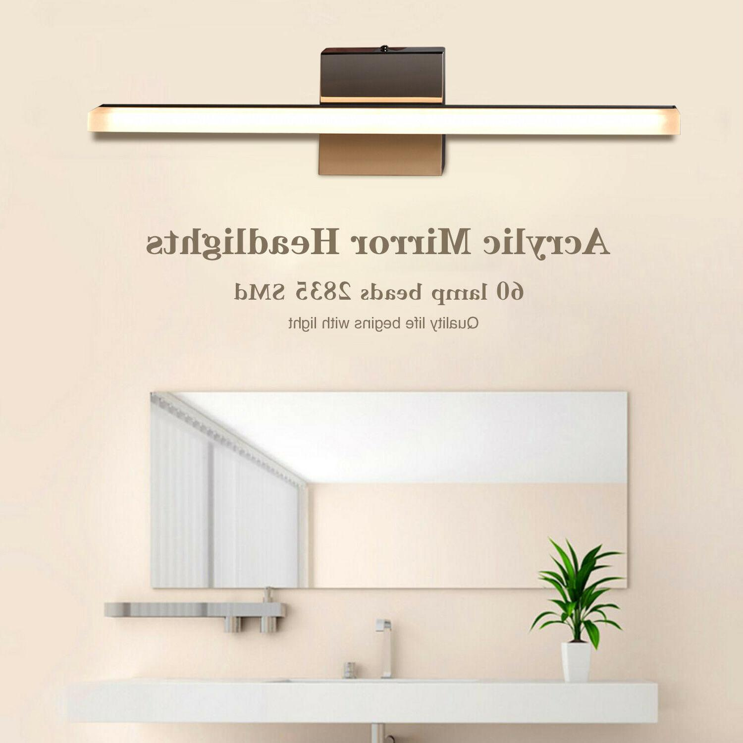 Bathroom Lamp LED Front Mirror Light Toilet Fixture Home
