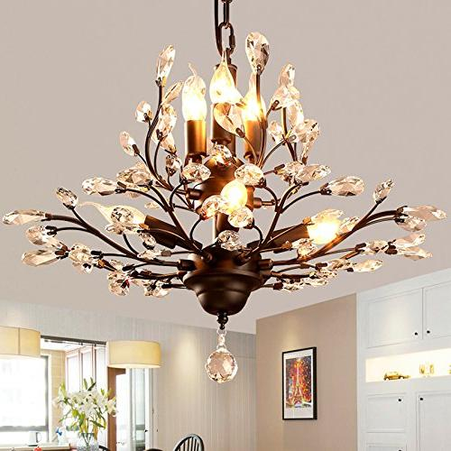 SEOL-LIGHT Vintage Chandeliers Light Flush With Living Porch