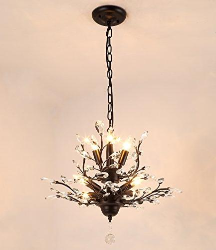 SEOL-LIGHT Crystal Branch Chandeliers With Living Room Porch
