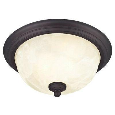 Westinghouse Ceiling Light Bronze, Glass