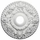 Ceiling Medallion for Chandelier Light Fixture, Hand Carved