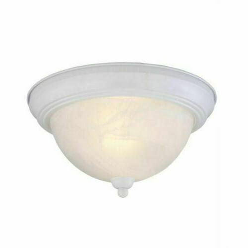 Hampton Bay Classic Collection Flush Mount Fixture 2-Light T