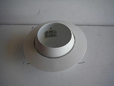 "Cooper Lighting Halo 78P 6"" Eyeball Trim White Recessed Fixt"